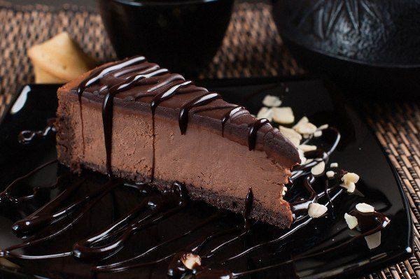 Чизкейк без выпечки рецепт в шоколаде - Горчица на огуречном рассоле - кулинарный рецепт
